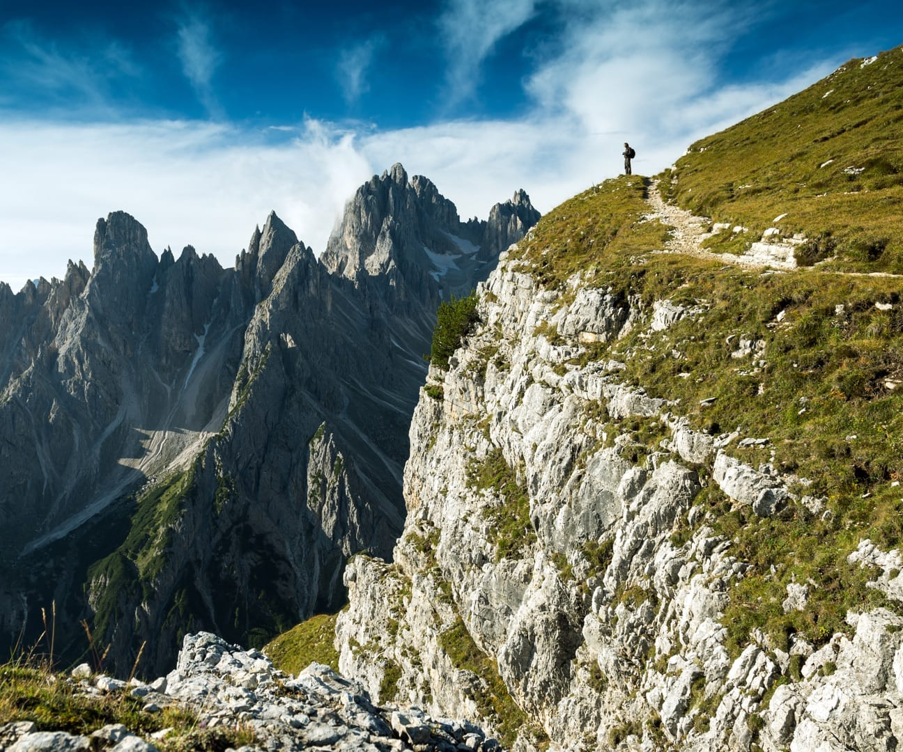 Hiking experiences in the Dolomites