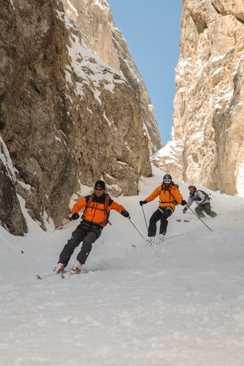 Skiing and Mountaineering